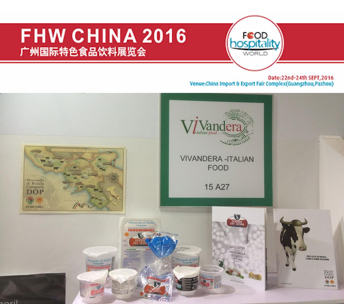Il Podere dei Leoni al Food Hospitality World China 2016